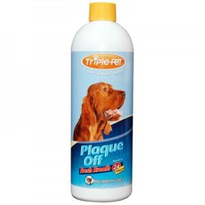 Triple Pet Plaque Off Breath Freshener - 16oz. Bottle