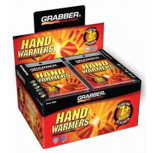 Arthritis Hand Warmers Display Mini 4.75 x6.75 Box/40 pr