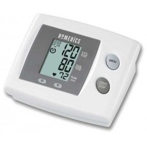 Blood Pressure Monitor with Manual Inflation & Auto Defl.