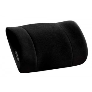 Lumbar Support with Massage Obusforme Black
