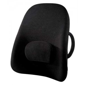 Wideback Backrest Support Obusforme Black