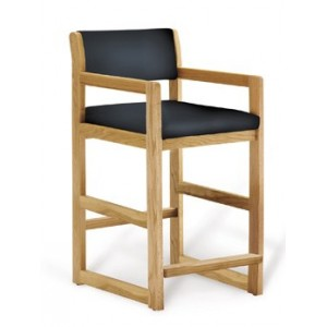 Hip Chair Oak w/Wide Seat