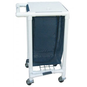 PVC Tubing Single Bag Hamper w. Foot Pedal 26.75 L x 22.5 W