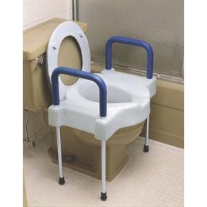 Tall-Ette Elevated Toilet X-W w/Legs 600 Wt. Cap. Steel