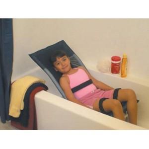 Shower Bath Chair Adj Small Reclining w/o Base & Casters