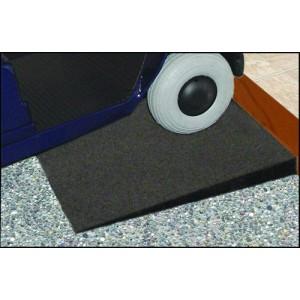 Threshold Ramp Rubber w/ Beveled Sides