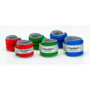 Comfort Fit Ankle & Wrist Weight Set Red 2lb
