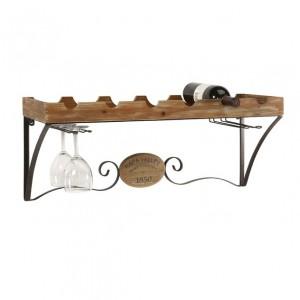 Napa Valley Wine Shelf