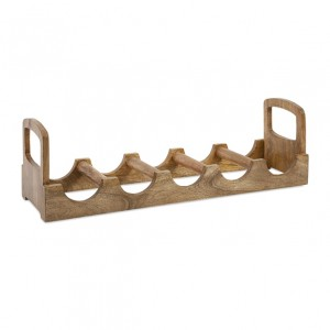 Luca Wood Wine Holder