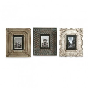 Aiden Hand Carved Frames - Set of 3