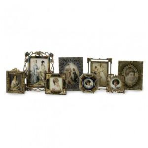 Vintage Jeweled Frames - Set of 8
