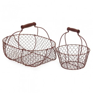 Wire Baskets - Set of 2