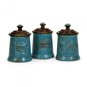 Provincial Canisters - Set of 3
