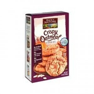 Back To Nature Crispy Oatmeal Cookies ( 6x9.5 Oz)