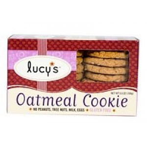 Dr Lucy Cookies Oatmeal Cookies Gluten Free ( 8x5.5 Oz)