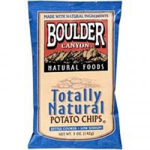 Boulder Canyon Low Fat Original Kettle Chip Gluten Free ( 12x5 Oz)
