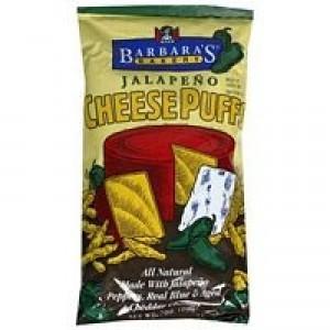 Barbara's Bakery Jalapeno Cheese Puffs Gluten Free ( 12x7 Oz)