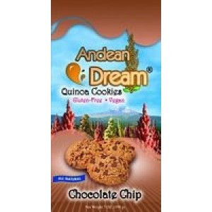 Andean Dream Quinoa Choc Chip Cookies Gluten Free ( 6x7 Oz)