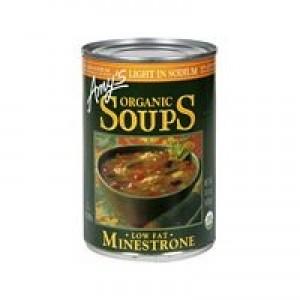 Amy's Kitchen Low Sodium Minestrone Soup ( 12x14.1 Oz)