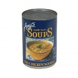 Amy's Kitchen Low Fat No Chicken Noodle Soup ( 12x14.1 Oz)