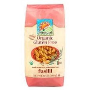 Bionaturae Fusilli Pasta Gluten Free ( 12x12 Oz)