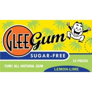 Glee Gum Lemon Lime, Sugar Free (12x15 PC)