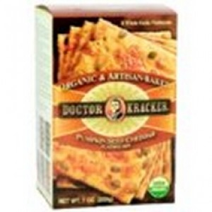 Dr Kracker Pumpkin Cheddar Bag In Box Crackers (6x6 Oz)