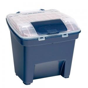 Bergan Smart Storage Large 50 Lbs Navy Blue