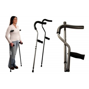 Millennial Crutch-Standard-Pair by Stander