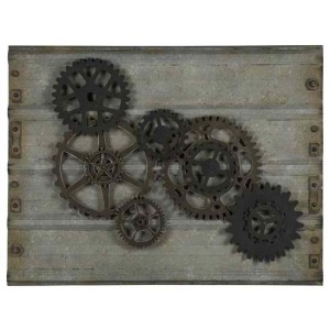 Gear Wall Hanging