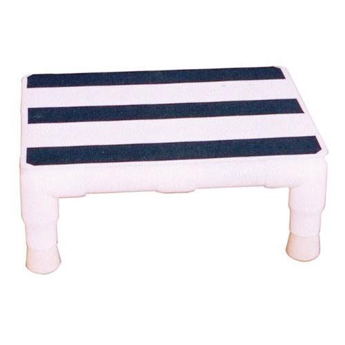 Step Stool W Handrails Pvc Mri Daily Care For Seniors