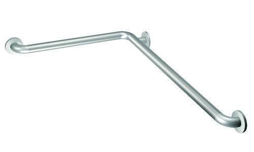Moen L Shaped Peened Grab Bar W Securemount 16 X 32