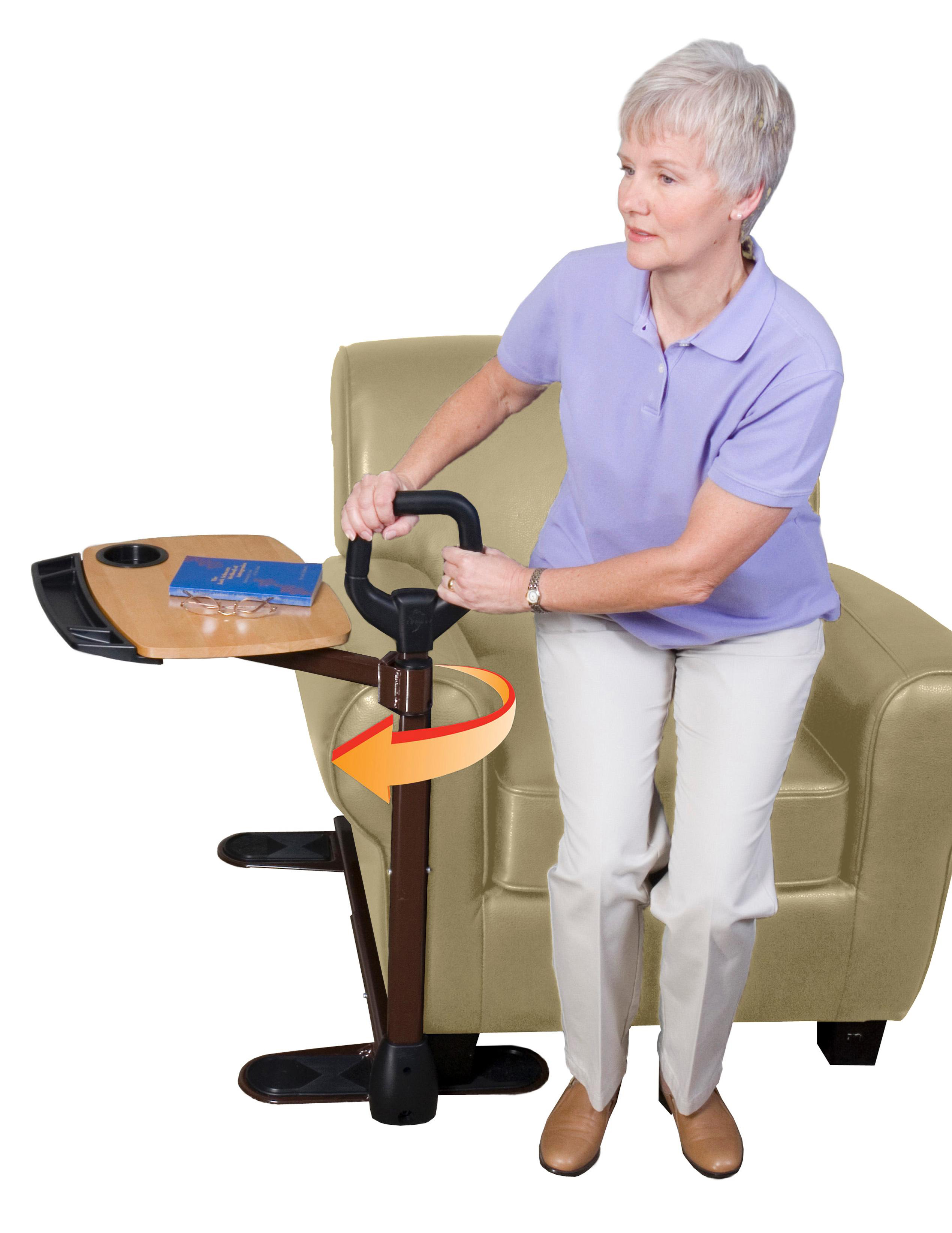 adults standing stand aid adjustable medokare hospital able assist grade elderly life couch com dp bed handle chair amazon mobility universal rails for